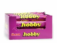 ulker HOBBY CHOCOLATE HAZELNUT BAR 25 GR (24 PCS) NEW LISTING
