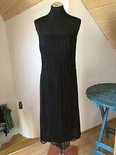 Laurel Escada Kleid Schwarz Größe 36 S Dress Cocktailkleid Hochzeit Ball Top