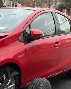 2012-18 TOYOTA PRIUS C LEFT DRIVER SIDE FRONT DOOR