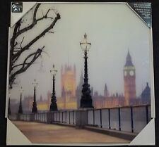 London, Big Ben, House of Parliament Glass Wall Art/Image/Tempered Glass Picture
