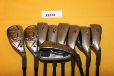 Ping G20 Green Dot 23° and 27º Hybrid 6-W UW SW Ladies Graphite 9 Club Set J3774