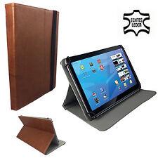 Leder - Tablet PC Tasche ASUS ZenPad 10 Z300M Leder Echtleder Braun 10.1 Zoll