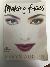 Making Faces by Kevyn Aucoin (1999, Paperback) Classic Makeup Book