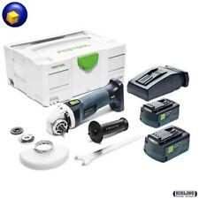 Festool batería-milímetros AGC 18-125 FH li 5,2 eb-plus 576826 en systainer