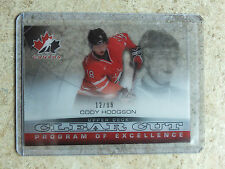 13-14 UD Team Canada Clear Cut Program of Excellence POE CODY HODGSON /99