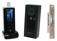 Wireless Video Intercom (100 metre) with Electric Door Latch (fail secure model)
