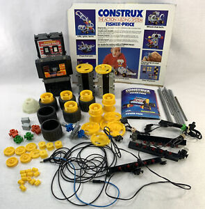 Fisher Price Construx Power Light Pack For parts Repair 6450 6060 30+ pieces