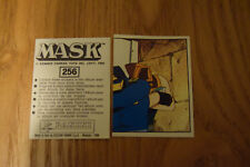 Mask Panini sticker 1986 ( M.A.S.K.  Kenner parker toys ) number 256