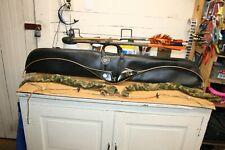 Vintage Fred Bear Super Magnum 48 Recurve Bow Left Hand 50 Pound W/Case & Arrows