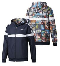 New Adidas Original BTS Amazing Reversible Windbreaker Jacket Multicolour AY7773