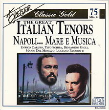 Classic Gold: The Great Italian Tenors - Napoli...Mare e Musica (CD, Excelsior)