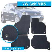 VW Golf Mk5 - (2004-2009) - Tailored Car Floor Mats - Oval Fittings -Volkswagen