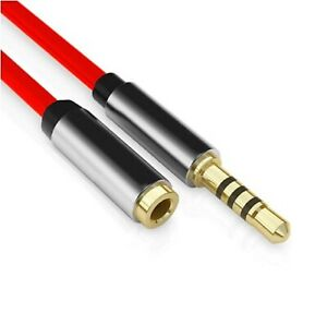 Headset Extension AUX Cable 3.5mm Earphone Extender Cable 3.5mm x 1m long
