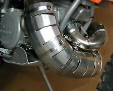 FLATLAND RACING 2011-16 KTM 250/300 XC/SX/XCW PIPE GUARD & more STCK & FMF 11-27