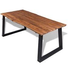 vidaXL Esstisch Esszimmertisch Holztisch Tisch Massives Akazienholz 180 x 90 cm