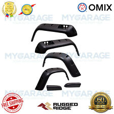 Omix For 76-86 CJ5/CJ7/CJ8 Scrambler All Terrain Fender Flare Kit, 6 Piece