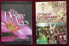 Ellen G White Duo: The Desire of Ages ~ The Great Controversy SDA PB Books