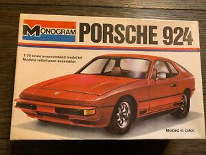 Monogram PORSCHE 924 1/24 NIOB! *VINTAGE* ▓RARE▓ Turbo Sports Car Exotic