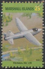 WWII HEINKEL He.178 Jet / Turbojet Aircraft Stamp (Marshall Islands)