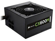 Corsair CX600M 600W watt 80 PLUS Bronze ATX Modular Power Supply PSU