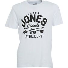 Mens Jack & Jones Originals T-Shirt White XL CS077 GG 11