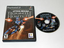 Star Wars Bounty Hunter Sony Playstation 2 PS2 Game Disc w/ Case