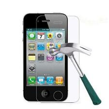 100% Genuine Tempered Glass Screen Protection For Apple iPhone 4 4G 4S (2x)