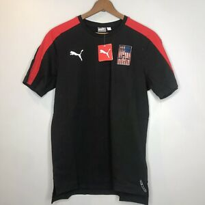 Puma United States #94 Jersey Mens Large Black Red White  USA