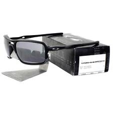 Oakley OO 9266-01 SALES SAMPLE TRIGGERMAN Matte Black Iridium Mens Sunglasses