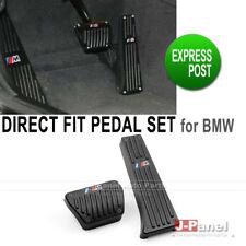 M LOGO DIRECT FIT BLACK ALUMINIUM FOOT PEDAL SET fit for BMW F20 F30 AUTOMATIC