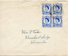 1957 Sg 560 Inter Parliamentary Congress First Day Cancellation Wins Combe Devon