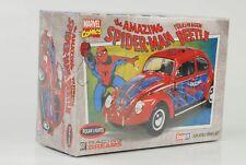 Spider-Man VOLKWAGEN BEETLE KIT KIT 1:24 Broche de presión IT Polar Lights