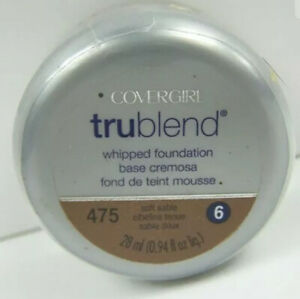 "Covergirl TruBlend Whipped Foundation ""Soft Sable"" #475"