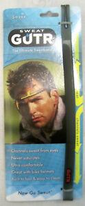 Sweat GUTR Flex Headband: Gray, Sweatband, Flexible Polymer Material