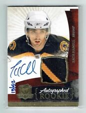 10-11 UD The Cup  Zach Hamill  /52  Gold Spectrum  Auto  Patch  Rookie