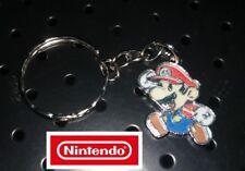 (NEW) SUPER MARIO Bro's Keychain  Mario Full Metal  SMB Nintendo Mario Brothers