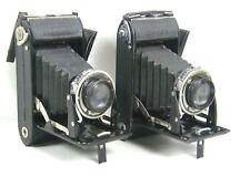 Lot of 2 VOIGTLANDER BESSA FOLDING CAMERA w/ Skopar f:3.5 10.5 cm lens