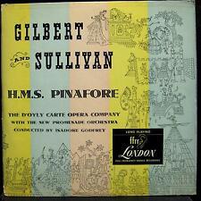 GILBERT & SULLIIVAN h.m.s. pinafore 2 LP VG+ LLP 71 UK Mono Vinyl 1949 Godfrey