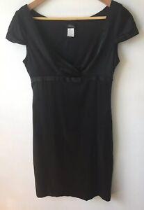 Collette Dinnigan Silk Black Dress Size Small