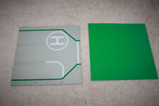Lego Green & Light Gray Helicopter Road 32x32 Base Plate Lot - R1017