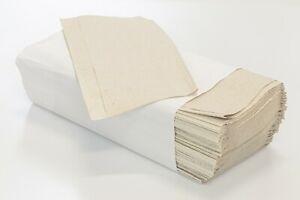 4000/8000 Stk. Papierhandtücher 1 lagig Zickzack Handtücher 25x23
