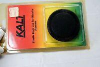 Kalt Plastic Camera Body cap for Minolta Maxxum and Sony A mount cameras