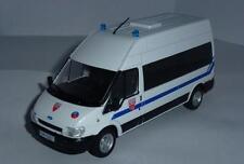DeAGOSTINI 1:43 Ford transit police française S. Voitures de Police du Monde