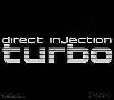 Toyota Landcruiser Direct Injection TURBO Sticker Decal 80 Series  270mm