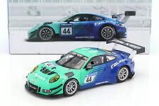 PORSCHE 911 (991) GT3 R #44 Faucon Motorsports 24h Nürburgring 2017 1:18 Minich