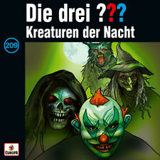 CD drei Fragezeichen 209 Kreaturen der Nacht