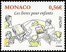 monaco ca 2010  enfant monde child world europa map world earth 1v  mnh **