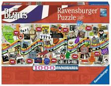 RAVENSBURGER PANORAMIC JIGSAW PUZZLE BEATLES THROUGH THE YEARS 1000 PCS #15096