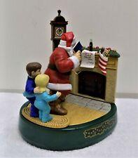 Vintage Coca Cola ERTL Mechanical Bank Santa Please Pause Here 3rd Series 1995