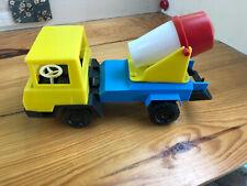 alter Spielzeug LKW mit Betonmischer (G)13698
